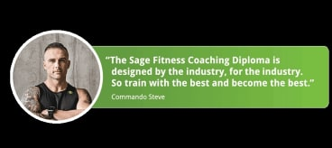 An ad for the course on Sage's website.