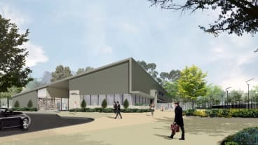 Artist's impression of the new centre.