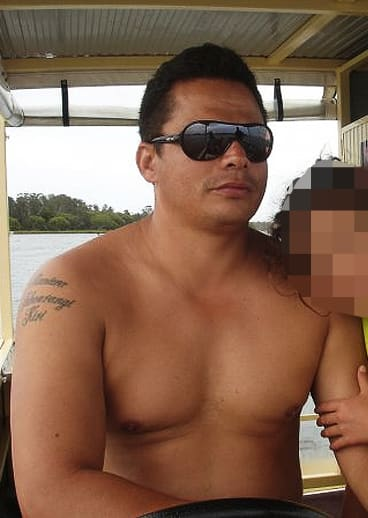 Gemahl Maika, 38, who was shot dead outside his home at Glen Alpine.