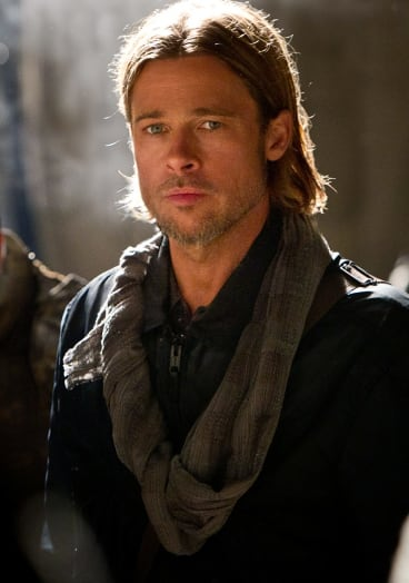 Brad Pitt in <i>World War Z</i>.