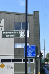 The Dan Murphy's store is adjacent to the Leichhardt North light rail stop