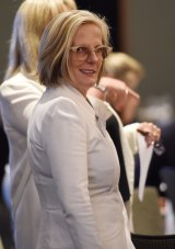 Lucy Turnbull has a slightly more blue chip approach.