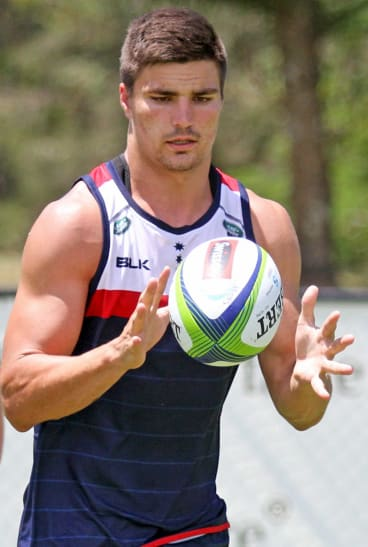 One to watch: Melbourne Rebels coach Dave Wessels says young player Jack Maddocks is a star in the making.