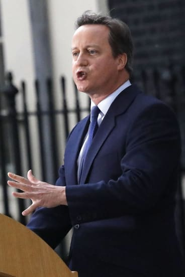 """""""I support gay marriage because I'm a Conservative"""": David Cameron famously declared."""