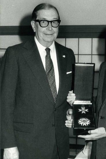 Former CSR managing director Sir James Vernon in 1983.