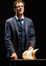 Gareth Reeves as Harry Potter in Harry Potter and the Cursed Child, which opened at the Princess Theatre in Melbourne last Saturday.