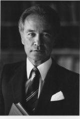 Professor David Flint pictured in 1998.