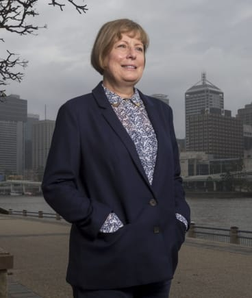 Brisbane Airport Corporation chief executive Julieanne Alroe says China Eastern's daily flights will be great for Brisbane commerce.