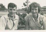 The Shaws in 1954.