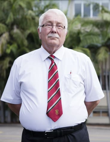 St Pauls Principal Mark Baker.