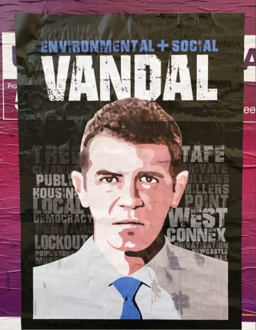 Michael Agzarian's poster featuring Mike Baird.