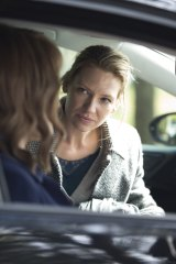 Anna Torv as Harriet, right, in the series <I>Secret City</I>.