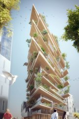 Bordeaux's Hypérion, named after the world's tallest living tree, to be completed in 2019.