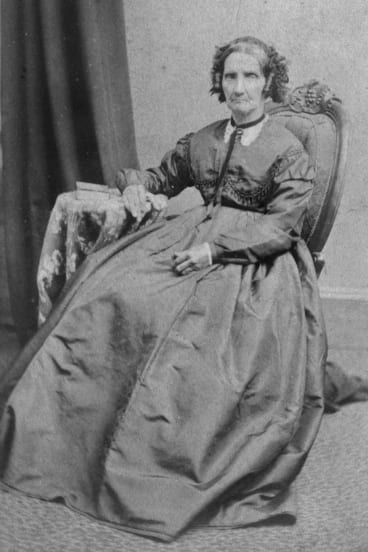 Jane Hewett, matriarch of the Hewett family and mother of Robert Hewett who both came to Australia on the Culloden. Robert Hewett met his wife Elizabeth on board the 19th century 'love boat' .