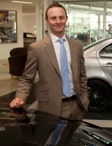 James Bergmuller, chairman of Preston Motors.
