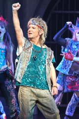 Brian Mannix in <i>We Will Rock You</i>.