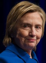 Joining efforts for a vote recount: Defeated Democratic candidate Hillary Clinton.
