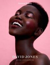 Adut Akech fronts the new David Jones beauty campaign.