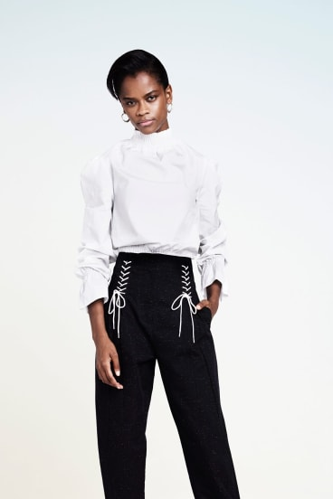 Letitia Wright is attracting early buzz as Princess Shuri in Black Panther.
