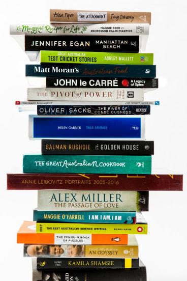Books for summer reading.