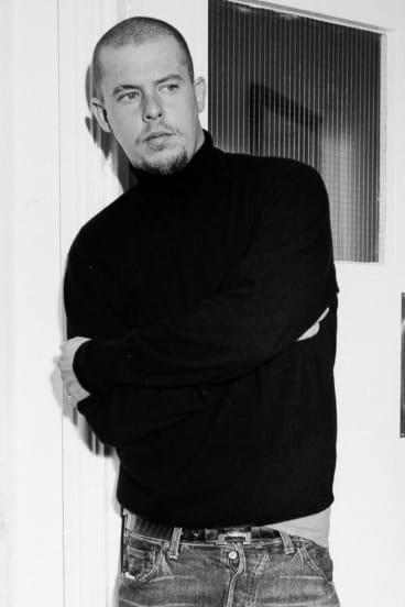 Brilliant but troubled fashion designer Alexander McQueen.