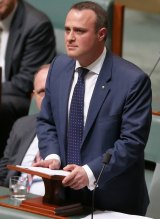 Preparing to agitate for a free vote in the Parliament: Tim Wilson.