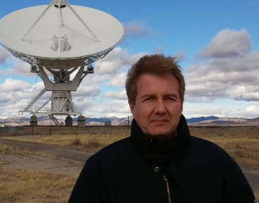 Up, up and away: Mars One chief medical officer Norbert Kraft.