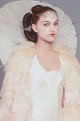 Natalie Portman as Queen Amidala in Star Wars Episode I - The Phantom Menace.