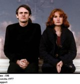 Yves Beneyton and Isabelle Huppert in <i>The Lacemaker</i>.