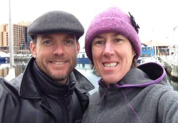 Simon and Jackie Fairweather.