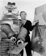 """While Jonathan Harris could school The Robot on """"Lost In Space"""" in fine art, today's robots have difficulty opening doors."""