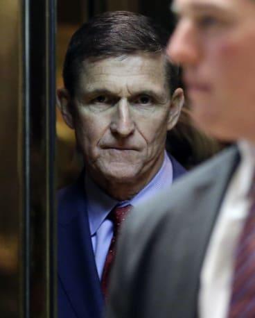 White House national security adviser Michael Flynn.