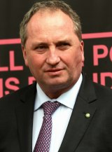 """""""Barnaby was told this tonight and apologised to Q&A that he would not be able to appear."""""""