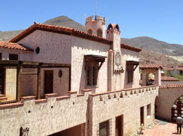 Desert landmark: Scotty's Castle is now owned by the US National Park Service.