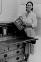 Clytie Jessop in 1981, her gallerist era. Her soirees rivalled Gertrude Stein's Paris salons.