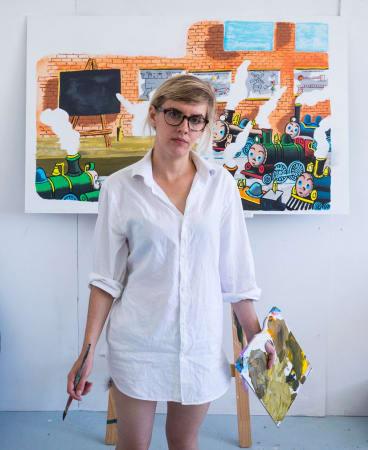 Sophia Hewson believes the gender bias in the art industry is brutal.