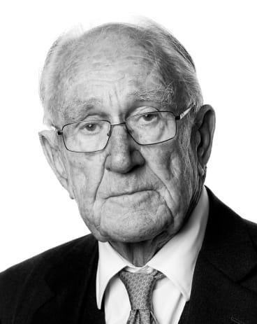 Former Prime Minister Malcolm Fraser.
