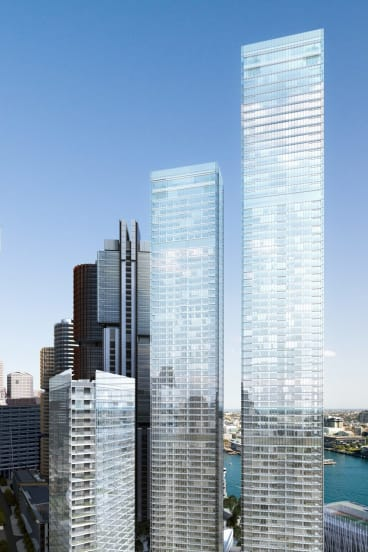 Barangaroo South set for 775 apartments by Lendlease