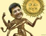 India's Energy Minister Piyush Goyal has shown flair and vision. <i>Illustration: michaelmucci.com</i>
