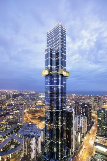 The Australia 108 skyscraper will be the tallest apartment building in Australia.