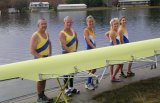 The Canberra Rowing Club will celebrate with a 300-metre sprint regatta in Yarralumla Bay and brunch in the morning, followed by a black tie event at the National Portrait Gallery at night.
