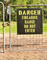 The Hornsby Rifle Range says bushwalkers should never have been allowed to use the track.