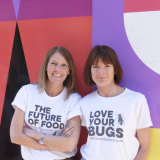 Ruth Galloway (R) and Cath Riley (L) from The Cricket Bakery.