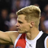 King to wear Riewoldt's iconic No.12 at St Kilda