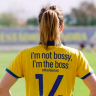 'I'm not bossy, I'm the boss': Swedish football team swaps jersey names for inspiring tweets