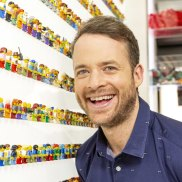 Hamish Blake was surprised by how interesting his new Lego show is