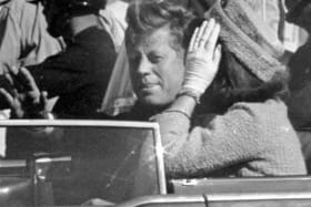 The assassination of JFK in Dallas on November 22, 1963, has always had a grip on author Lou Berney.