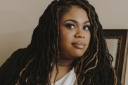 """Author Angie Thomas: """"As a teenager, hip-hop was how I saw myself when I didn't see myself in books."""""""