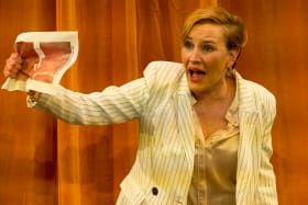 Whistleblower Kate Mulvany in An Enemy of the People.