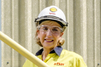Lynas chief executive Amanda Lacaze.
